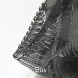 Mame Vinyl Chloride Clutch Bag Polychlorinated Plastics Clear Clutch Bag bla
