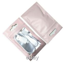 Matte Colorful Clear Mylar Plastic Food Grade Storage Aluminum Grip Zip Lock Bag