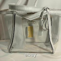 Michael Michael Kors Whitney Clear Tote Bag