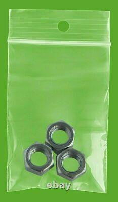 Mini Clear Reclosable Hanghole Bags 2 Mil 2 x 3 Bead Plastic Storage 40000 Pcs