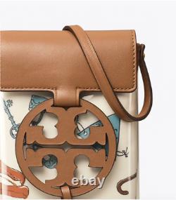 NWT $278 TORY BURCH Miller Phone Crossbody BAG Bon Voyage Special Edition