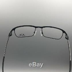 New OAKLEY Titanium TINCUP OX3184-0154 54-17 Powder Coal W Case & Bag OK011