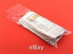 Newspaper Bags 7.5 x 21 0.8 Mil Clear Flat Plastic Bag 100 500 1000