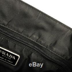 PRADA clear handle tote bag plastic Tessuto nylon Ladies