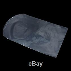 PVC Arc-shaped Heat Shrinkable Plastic Bag Clear Wrap Film Cosmetic Pack Pouch
