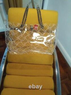 RARE large Kurt Geiger Transparent Tote Bag