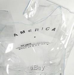 Raf Simons Clear PVC plastic Tote bag