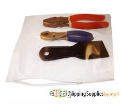 Reclosable Bags 9000 pcs Slider Block 3 Mil Ziplock Plastic Poly Bags 8 x 6