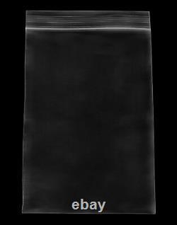 Resealable Clear Plastic Seal Zip Lock Bags Reclosable 4 x 6 4 Mil 16000 Pcs