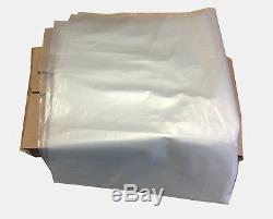 STRONG HEAVY DUTY CLEAR PLASTIC RUBBLE BAGS/SACKS BUILDERS BAGS 200-500Gauge