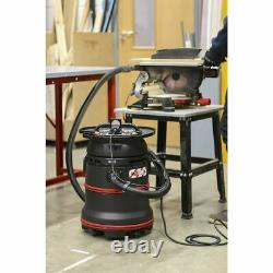 Sealey Vacuum Cleaner Industrial Wet/Dry 35L 1200With230V Plastic Drum Self-Clean