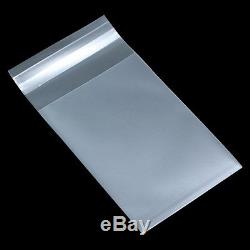 Self Adhesive Matte Clear Plastic Package Bags Biscuit Candy Nuts Packing Pouch