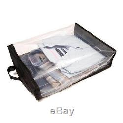 Shirt / Sweater CARRIER in Clear Breathable Plastic or use as Storage Bag 1388-1