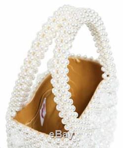 Shrimp Antonia Bag Cream and clear