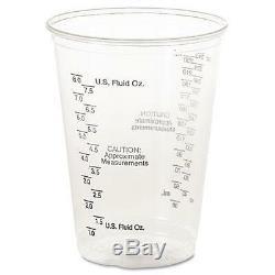 Solo TP10DGM Plastic Medical & Dental Cups, Graduated, 10 oz, Clear, 50/Bag, 20