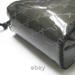 Stella McCartney MONOGRAM Clear x Eco Leather Plastics Tote Bag 557963 W8463