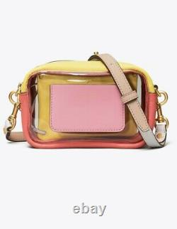 TORY BURCH PERRY Clear Mini Bag $248 MSRP NEW