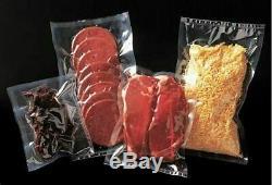 TWENTY ROLLS Food Vacuum Bags-08 x 50' BPA FREE 4mil, Full Mesh Embossed Design