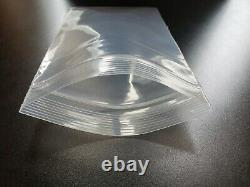 Thick 6-Mil Zip Top Extra HEAVY-DUTY Reclosable Plastic Zipper Lock Seal Bags