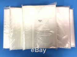 Top Quality 1,000 12X16 Clear Reclosable Plastic Zip Lock Bags 2mil Ziplock