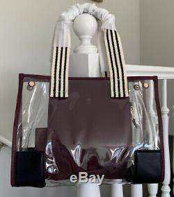 Tory Burch Ella Clear Mini Tote Bag