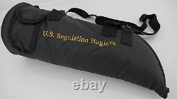 U. S. Regulation Bugle(tm) Nickel Silver with Bag, Mouthpiece and Book