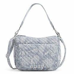 Vera Bradley Signature Cotton Carson Shoulder Bag Crossbody Purse, Park Lace