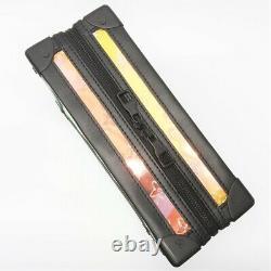 Vuitton Monogram Soft Trunk M55932 Shoulder Bag Prism Rainbow Clear Black With Bag
