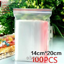 Wholesale Grip Seal Bags Self Resealable Mini Grip Poly Plastic Clear Bags