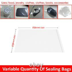Wholesale Heat Sealer Bags Poly Plastic Clear Seal Bag Sizes Film Food Saver