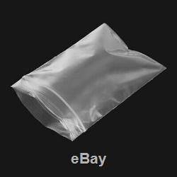 Zip Lock 2Mil Reclosable Clear Plastic Bags 3x4'' 4x6'' 5x7'' 6x9''. 12x15'