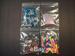 Ziplock Bags 40000 Plastic 1 1/2 x 1 1/2 Reclosable Jewelry Resealable 2 mil